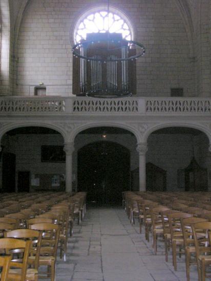 Intérieur de Notre Dame