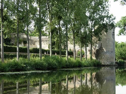 Le Thouet sous la tour du Boële