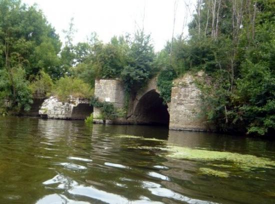 Ponts gothiques effondrés en 1577